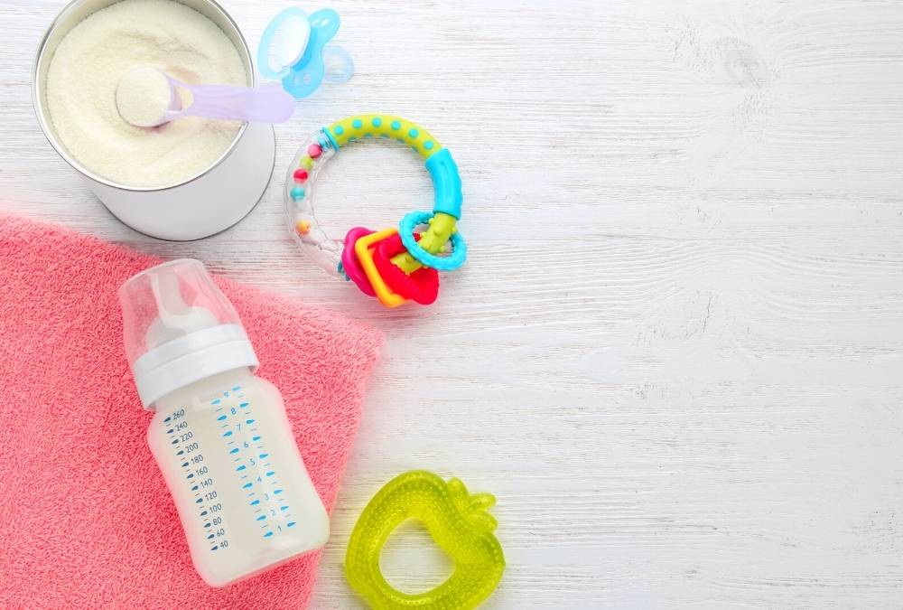 Baby bottle, teether and pacifier