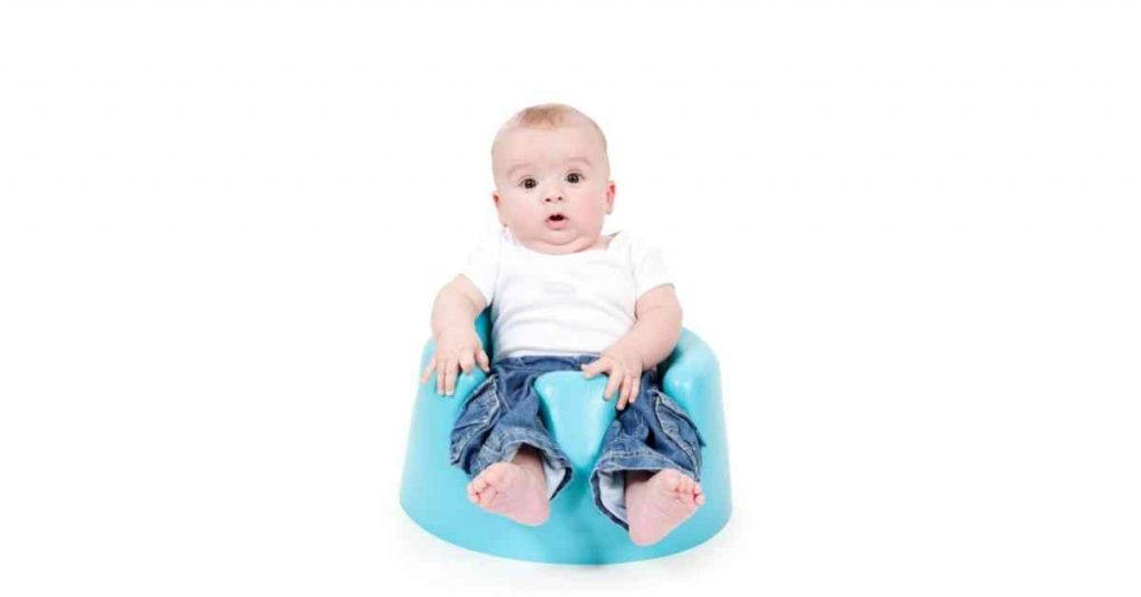 Baby On A Bumbo Seat