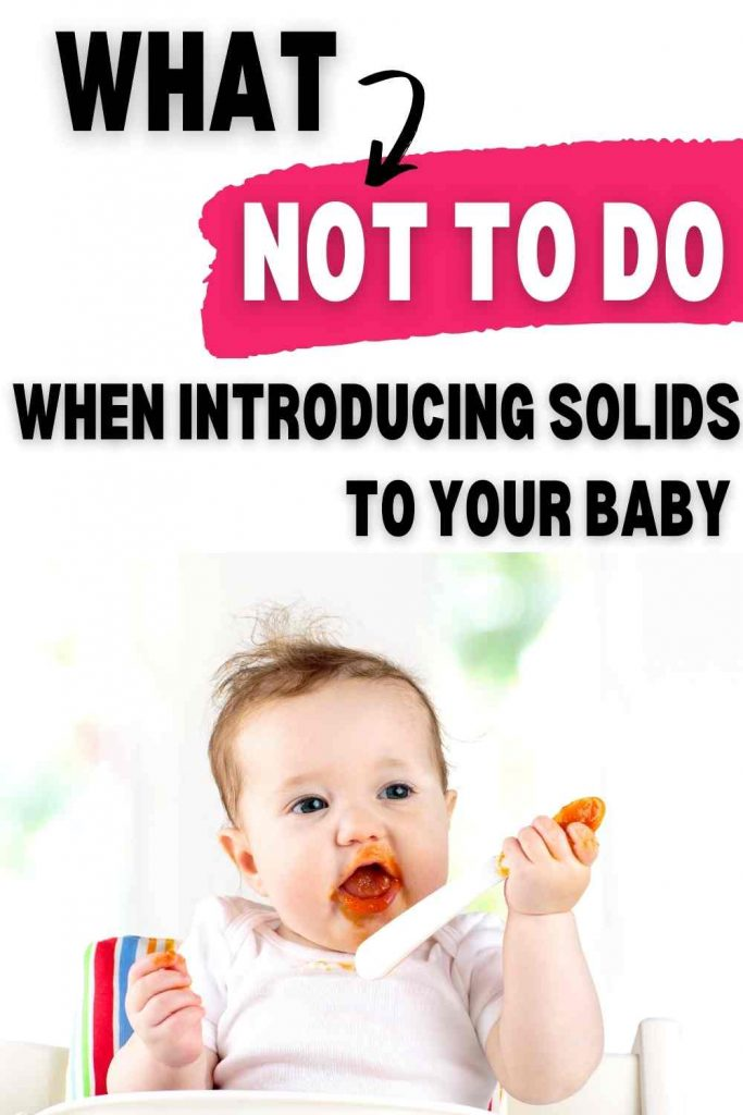 Dos And Don'ts For Introducing Solids To Your Baby
